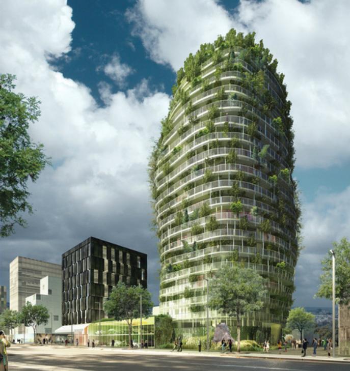 L habitat co responsable blog archive les tours Architecture high tech