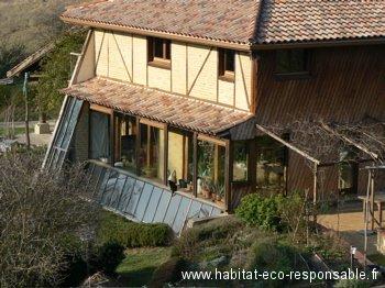 l habitat co responsable blog archive maison bioclimatique auto construite. Black Bedroom Furniture Sets. Home Design Ideas