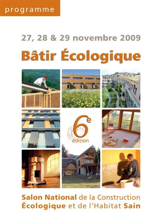 L habitat co responsable blog archive b tir ecologique for Salon eco habitat