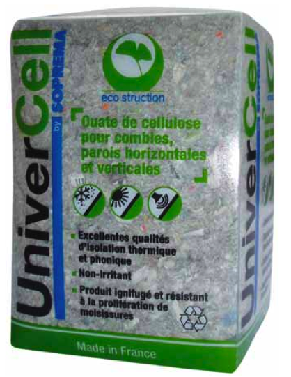 Prix ouate de cellulose univercell for Isolation ouate de cellulose prix